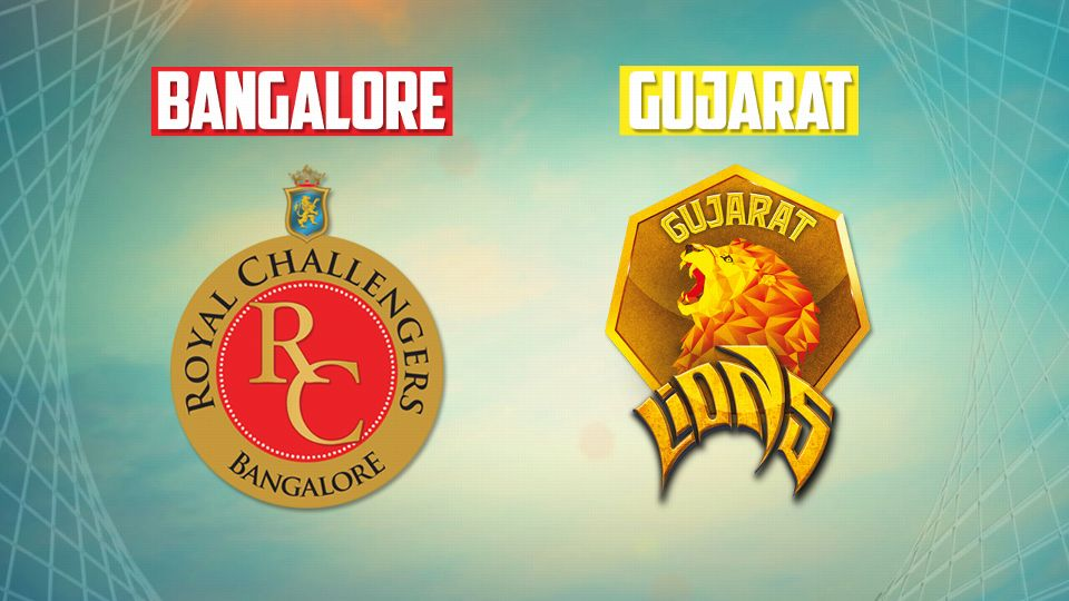 गुजरात की आँखे बंगलौर को हरा पॉइंट टेबल पर टॉप पर पहुंचने की 14