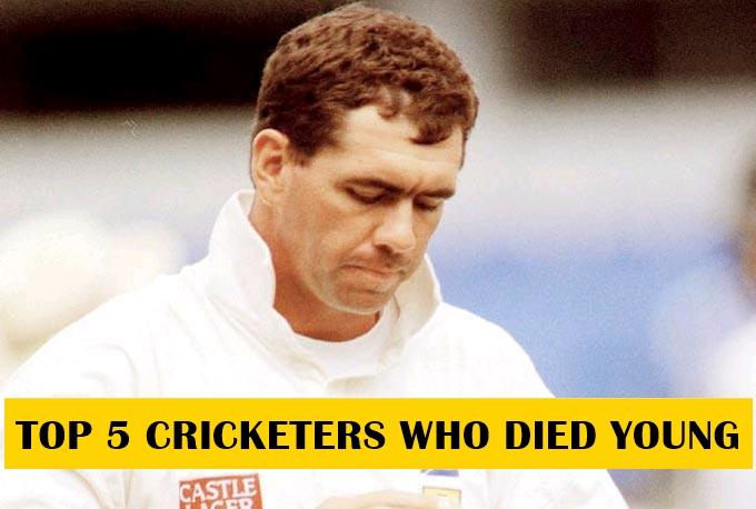 5 क्रिकेटर जिन्होंने काफी कम आयु में दुनिया को अलविदा कह दिया 14