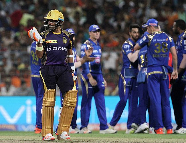 आईपीएल 9: रोहित के नाबाद 84 रनों की बदौलत मुंबई ने कोलकाता को दिया मात