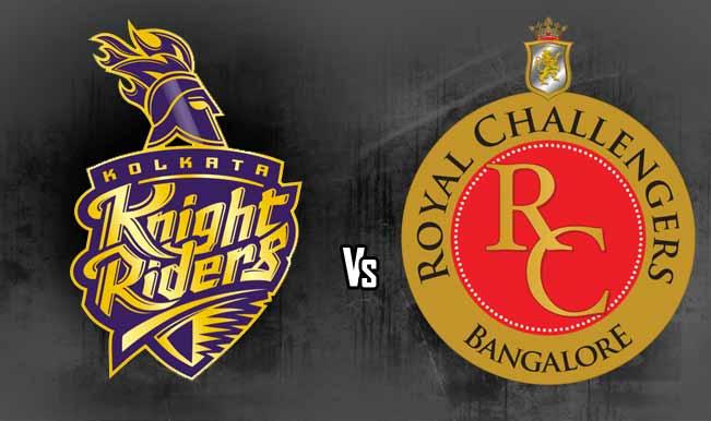 मैच प्रीव्यू: कोलकाता नाइट राइडर्स बनाम रॉयल चैलेजर्स बैंगलोर 1
