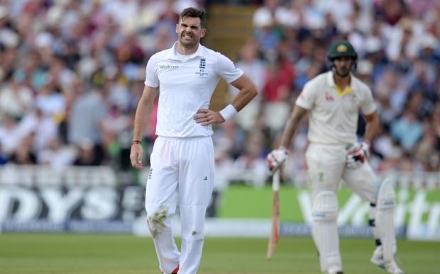 कंधे की चोट के कारण पाकिस्तान के विरुद्ध पहले टेस्ट से बाहर हो सकते है जेम्स एंडरसन 1
