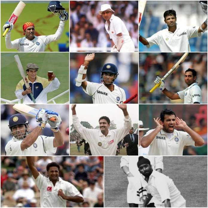 भारत की हर समय की सर्वश्रेष्ठ टेस्ट टीम 2