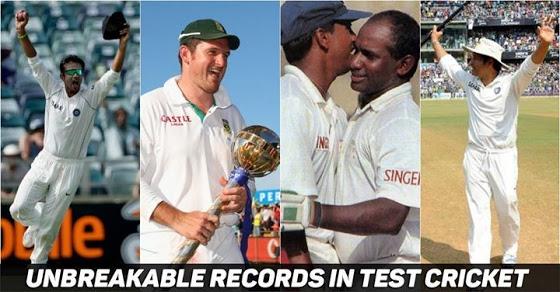 टेस्ट क्रिकेट के 11 ऐसे रिकॉर्ड जो आज तक नहीं टूट सके 1
