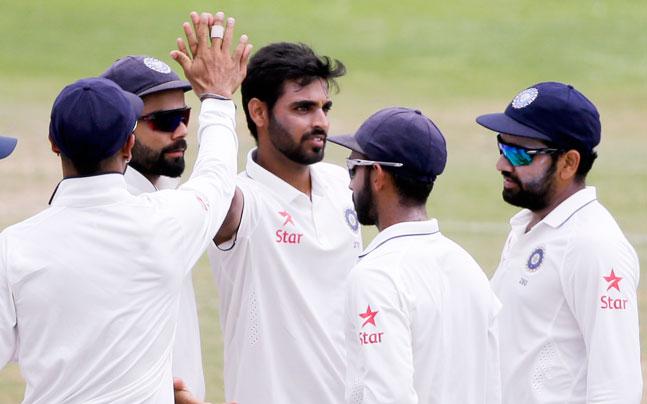चौथे दिन वेस्टइंडीज के खिलाफ जब भुवी विकेट ले रहे थे, तो डाली ऐसी डिलीवरी कही अपने मिस तो नहीं की? 5