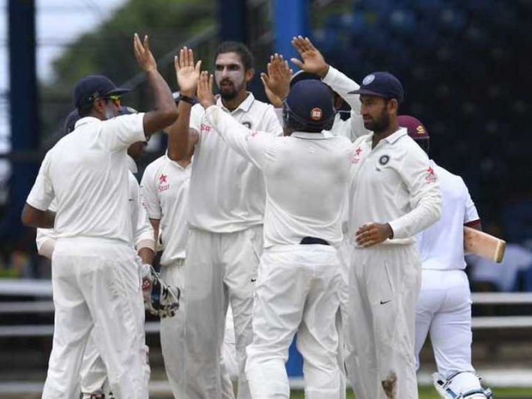 त्रिनिदाद टेस्ट : भोजनकाल तक भारत ने झटके 2 विकेट 3
