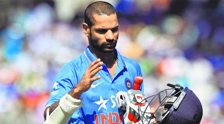 पाकिस्तान के खिलाफ चोटिल शिखर धवन की जगह इस खिलाड़ी को मिलेगी अंतिम 11 में जगह