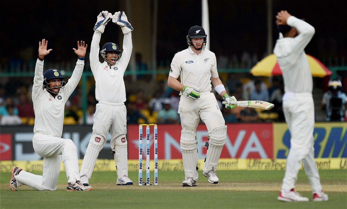 कानपुर टेस्ट : कीवी बल्लेबाजों के बाद भारत को बारिश ने किया परेशान 1