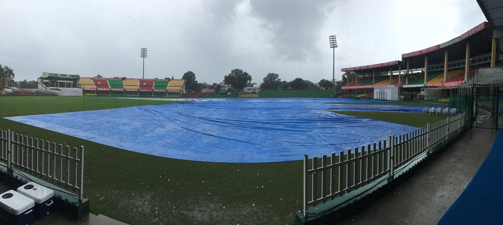 कानपुर टेस्ट : बारिश के कारण नहीं हो सका चायकाल के बाद का खेल 3