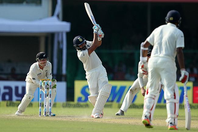 कानपुर टेस्ट : पहले दिन स्टम्प्स तक भारत ने बनाए 9 विकेट पर 291 रन 7