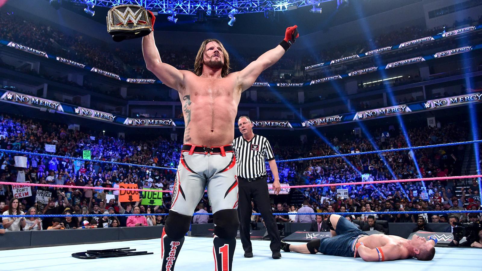 WWE No Mercy रिजल्ट 09 अक्टूबर 2016
