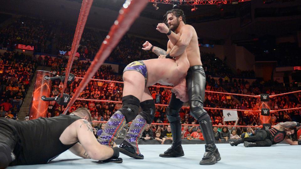 WWE RAW रिजल्ट, 31 अक्टूबर 2016 5