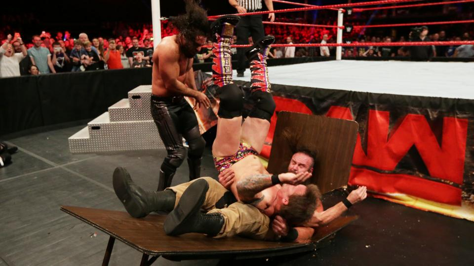 WWE RAW रिजल्ट : 7 नवम्बर, 2016 4