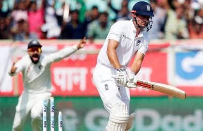 विशाखापट्नम टेस्ट : चौथे दिन चायकाल तक इंग्लैंड ने बनाए 40 रन 1