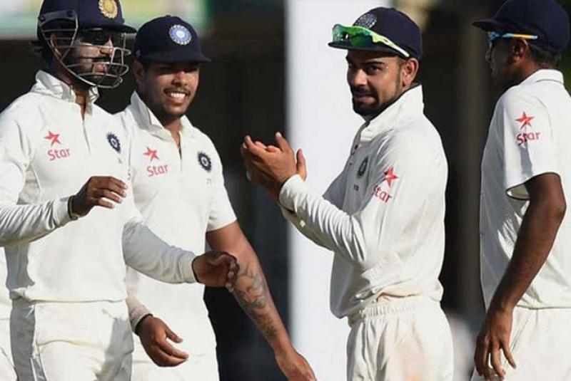 शीर्ष टेस्ट टीम को तौर पर भारत ने किया साल का समापन