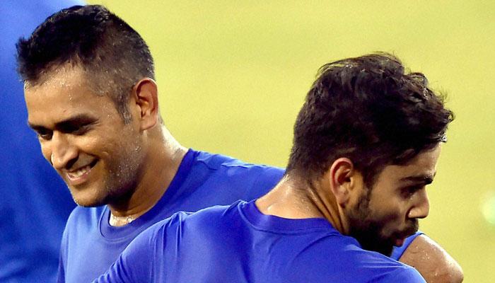 अपनी कप्तानी में महेंद्र सिंह धोनी को ऐसे टीम में खेलते देखना चाहते है विराट कोहली 1
