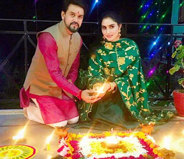 Anurag  Thakur wife