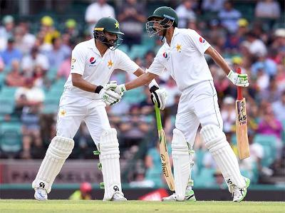 सिडनी टेस्ट : अजहर, यूनस ने पाकिस्तान को संभाला 9