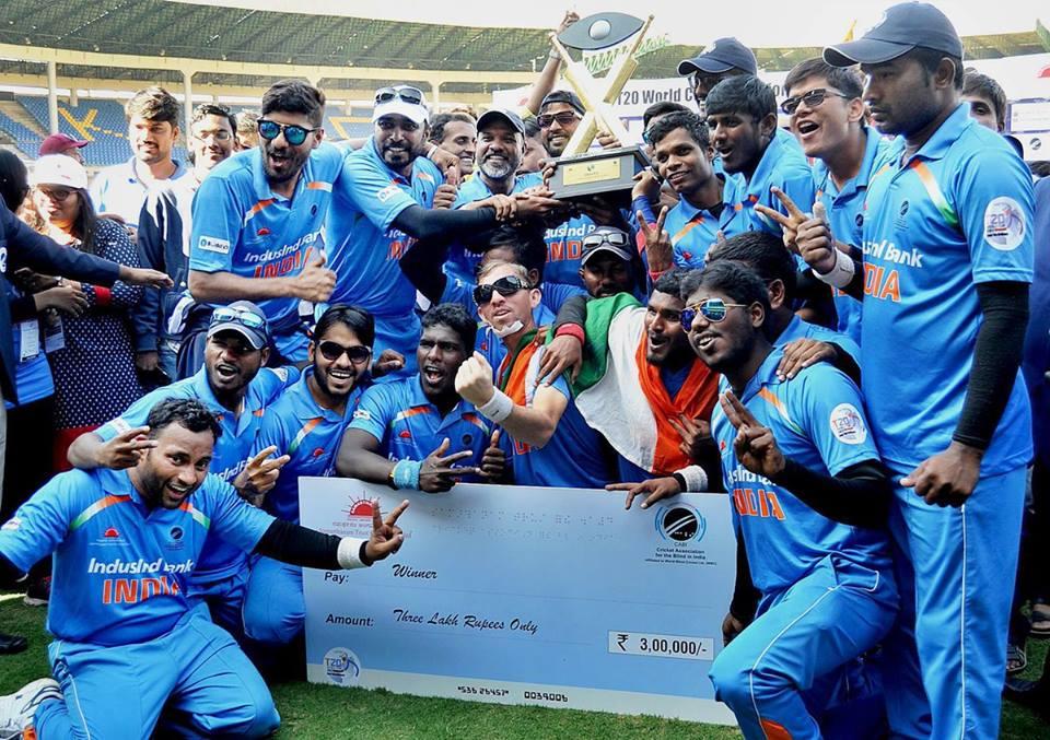 नेत्रहीन क्रिकेट वर्ल्ड कप फाइनल : भारत ने पाकिस्तान को हराया 1