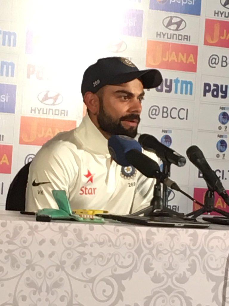 पुणे में मिली शर्मनाक हार के बाद बोले टीम इंडिया के कप्तान विराट कोहली, कहा…