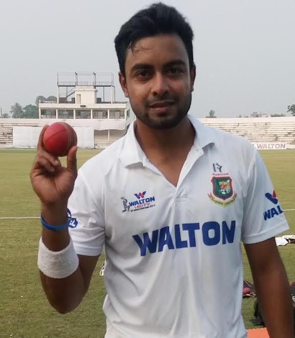 Image result for अबू जायेद जो की बांग्लादेश के लिए टेस्ट