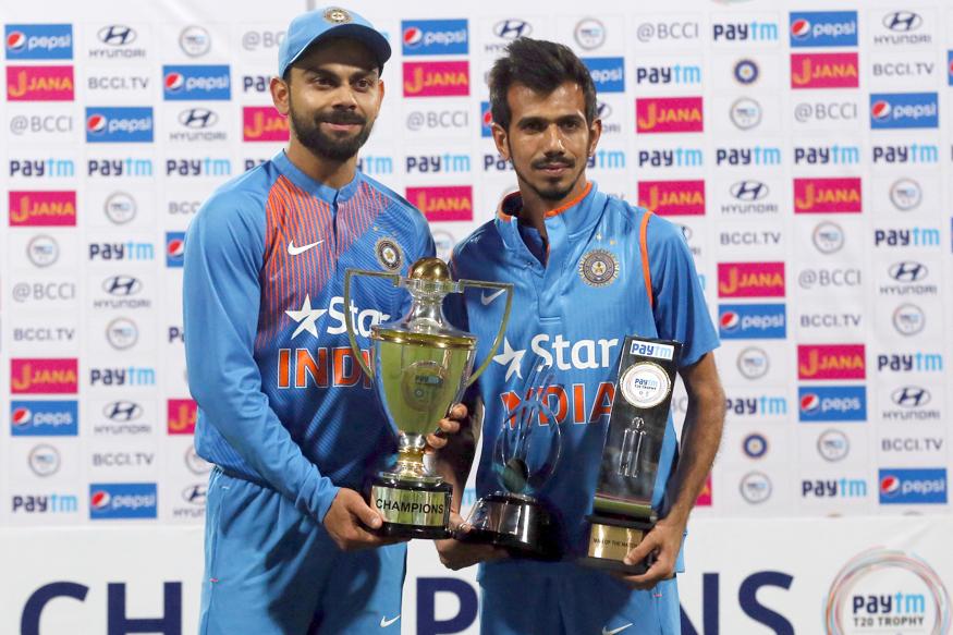 युवा स्पिन गेंदबाज यजुवेन्द्र चहल ने कोच को नहीं बल्कि इस भारतीय खिलाड़ी को दिया अपनी सफलता का श्रेय दिया इस भारतीय खिलाड़ी को 4