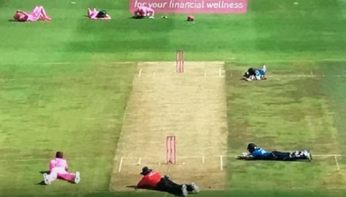 विडियो : एकदिवसीय क्रिकेट के इतिहास में पहली बार इस कारण रोकना पड़ा मैच 1