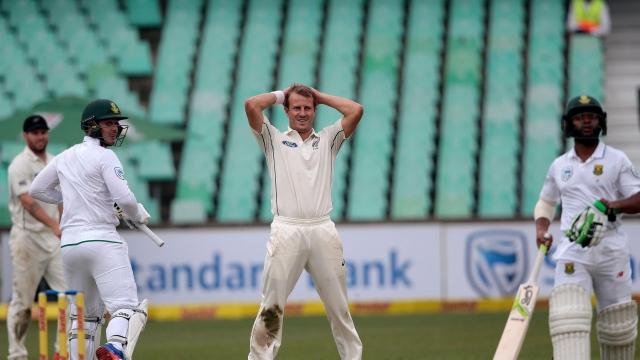बारिश के कारण डुनेडिन टेस्ट मैच ड्रॉ, न्यूजीलैंड का दिग्गज खिलाड़ी अगले टेस्ट से बाहर