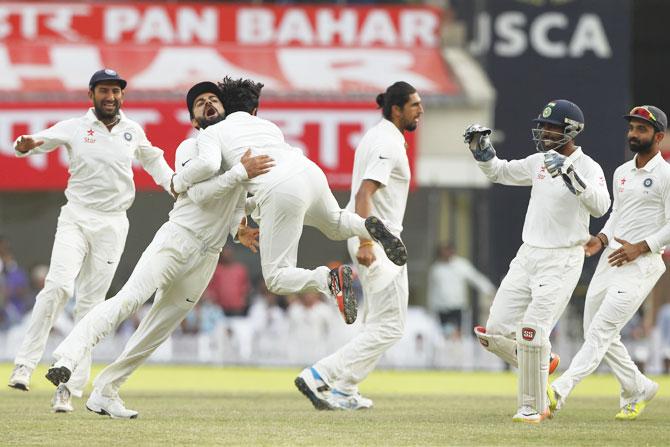 भारत बनाम ऑस्ट्रेलिया : रांची टेस्ट के 5 आकर्षक क्षण