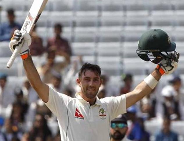 रांची टेस्ट मैच ड्रा होने के बाद कुछ इस तरह ग्लेन मैक्सवेल ने जाहिर की अपनी ख़ुशी