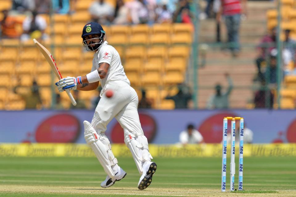 बेंगलुरु टेस्ट दूसरी पारी में भारत की सधी शुरुआत, परेशानी में स्टीव स्मिथ 10