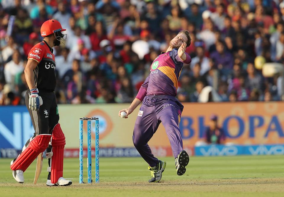 मैन ऑफ़ द मैच बने लॉकी फर्ग्युसन ने धोनी या स्मिथ नही बल्कि इस खिलाड़ी को दिया जीत का पूरा श्रेय 1