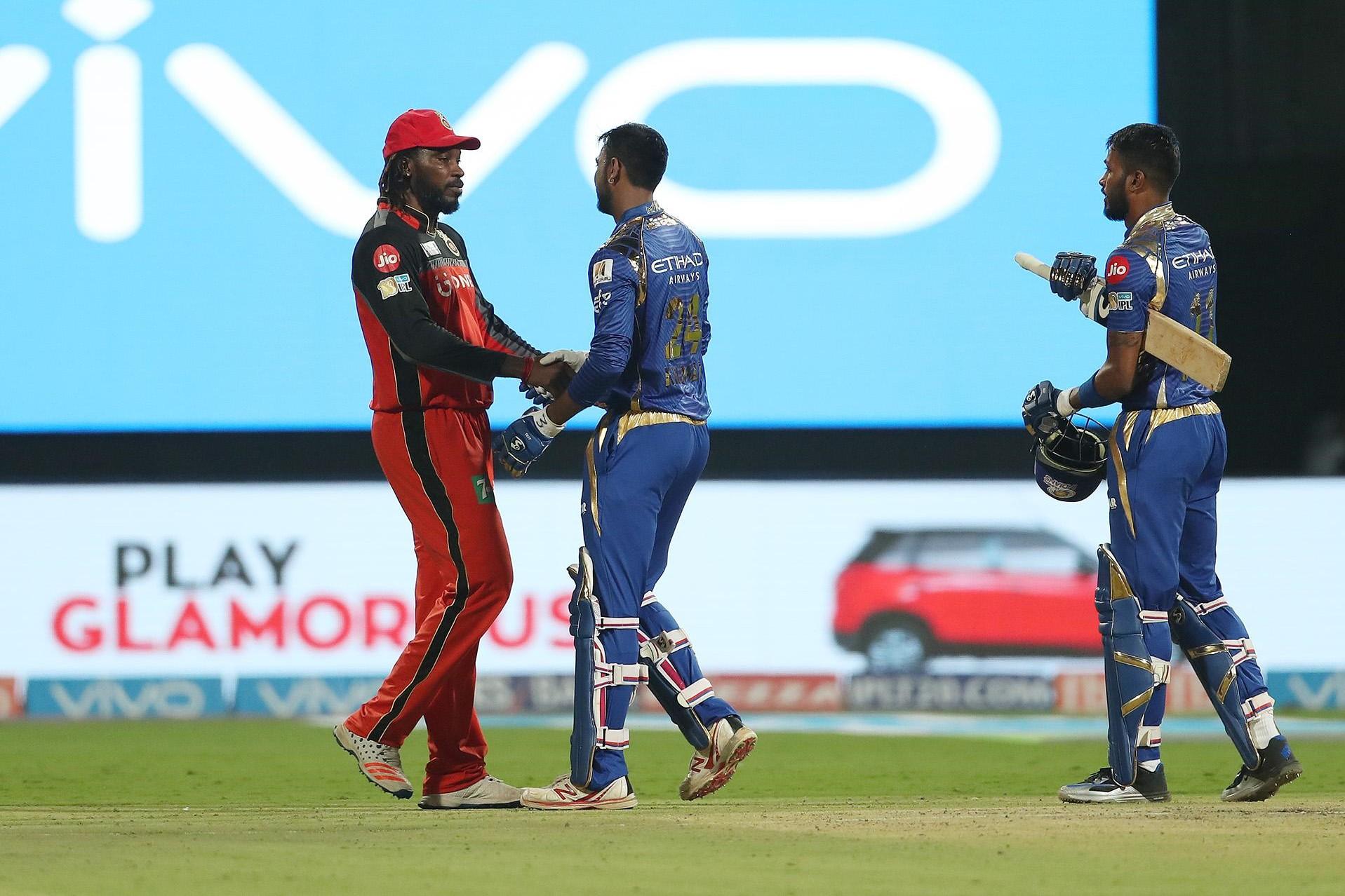 आरसीबी और मुंबई इंडियन्स के बीच खेले गए मैच के पांच टर्निंग पोइंट 1