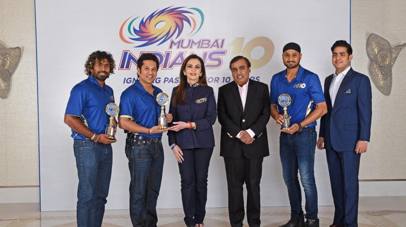 10 साल पुरे होने पर कुछ इस तरह मनाया दो बार की आईपीएल चैंपियन टीम ने जश्न 7