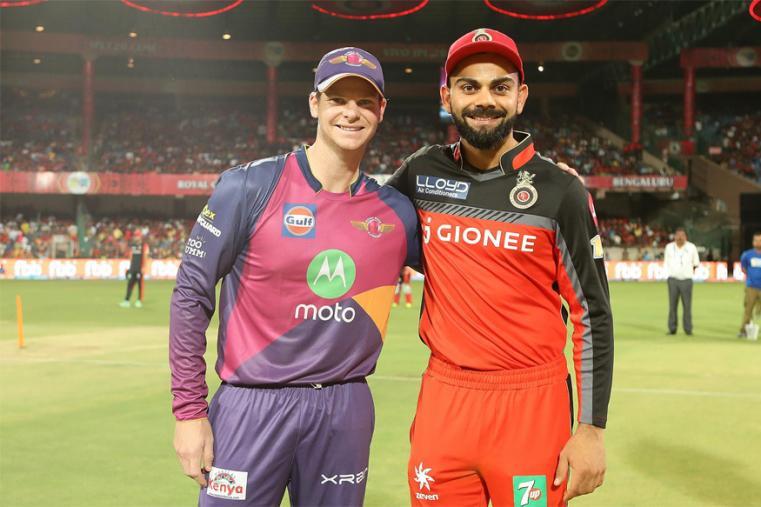 IPL10: RPS v RCB: रॉयल चैलेंजर बैंगलोर ने टॉस जीतकर पहले गेंदबाज़ी करने का फैसला किया