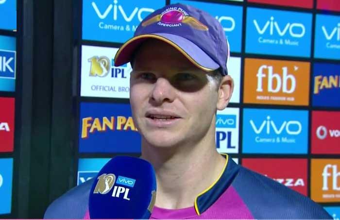 जीत के बाद पूरी टीम को भूल इस खिलाड़ी के कायल हुए आरपीएस के कप्तान स्टीवन स्मिथ 17