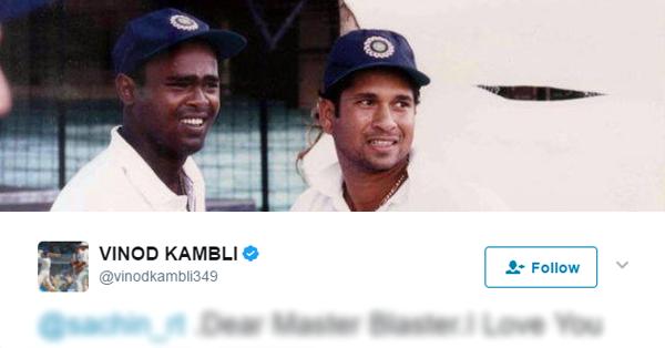 'सचिन: अ बिलियन ड्रीम्स' देखने के बाद पहली बार बोले विनोद कांबली, ट्वीट कर कही एक बड़ी बात 17