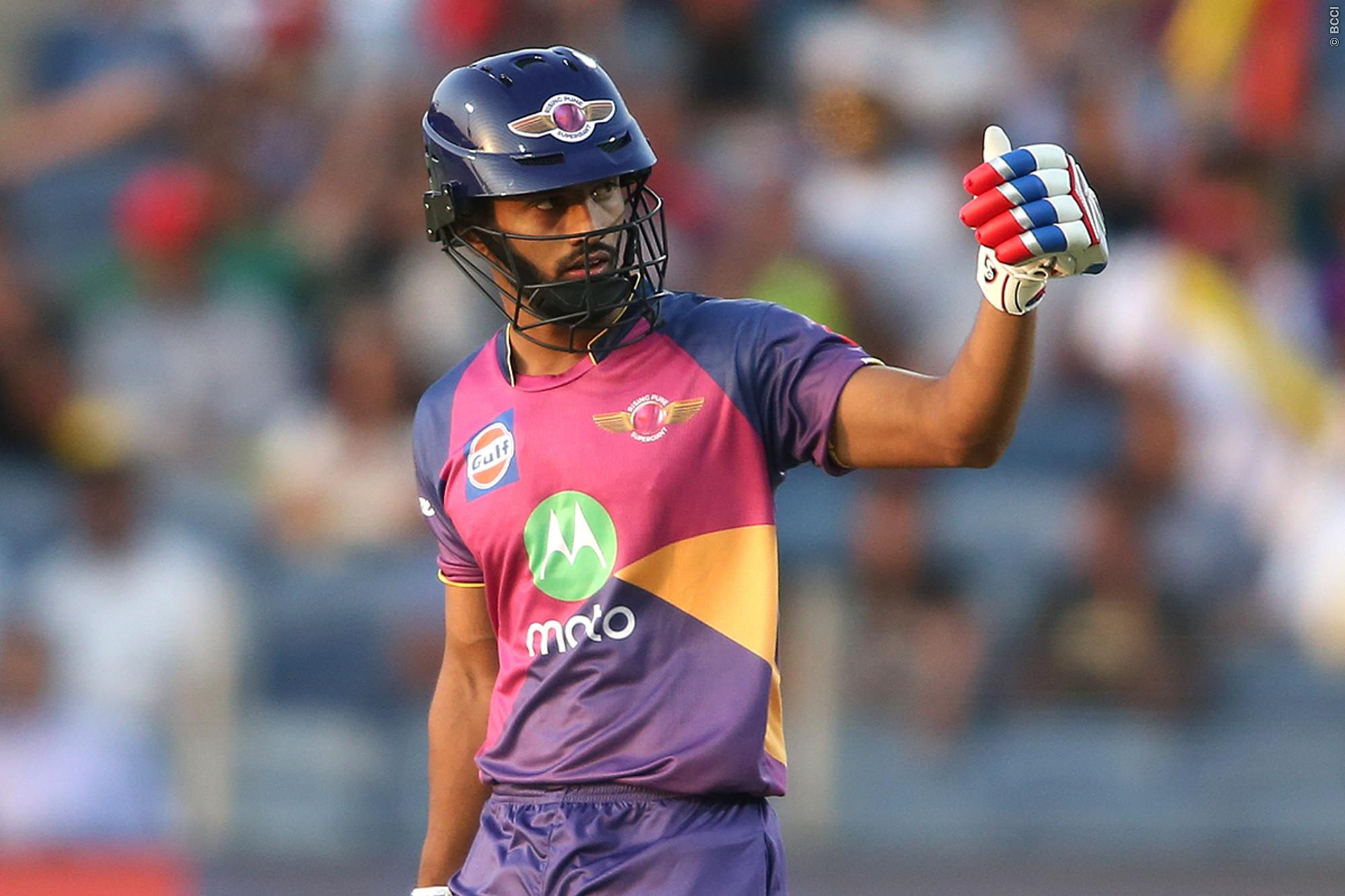 IPL 2018: आईपीएल के दसवें सीजन की सनसनी राहुल त्रिपाठी ने खोला राज, इस वजह से वो कर पाते हैं बल्लेबाजी 11