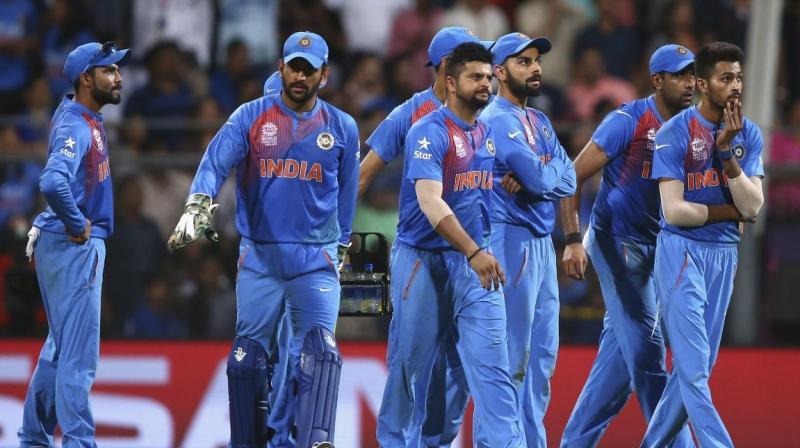 टी-20 टीमों की रैंकिंग में चौथे स्थान पर फिसला भारत 1