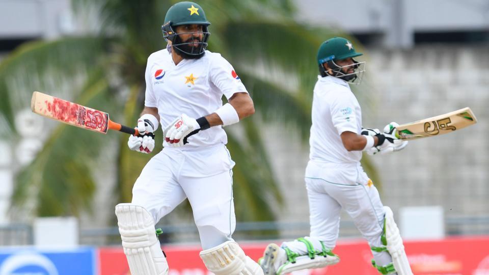 ब्रिजटाउन टेस्ट : मिस्बाह ने खेली अनचाहे रिकॉर्ड वाली पारी, लेकिन पाकिस्तान बड़ी बढ़त हासिल करने से चूका 11