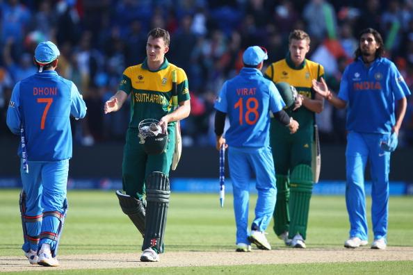 भारत बनाम दक्षिण अफ्रीका: टॉस रिपोर्ट: भारत ने टॉस जीता पहले गेंदबाज़ी करने का फैसला किया 2
