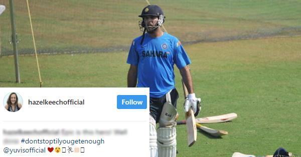 युवराज सिंह के 400वें अंतर्राष्ट्रीय मैच को लेकर हेज़ल कीच ने युवी के लिए कह डाली ये बड़ी बात 8