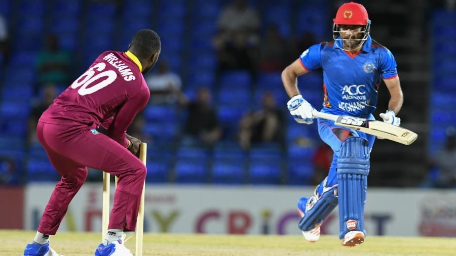 राशिद खान के सामने एक बार फिर घुटने टेकते नजर आये वेस्टइंडीज के बल्लेबाज 1