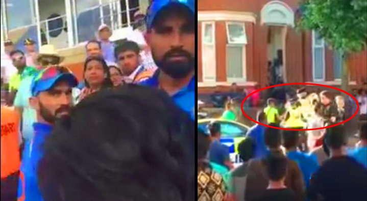 वीडियो : मोहम्मद शमी और भारतीय टीम से बाप कौन है? पूछने वाले पाकिस्तानी समर्थक का भारतीयों ने किया था ये हालत 7