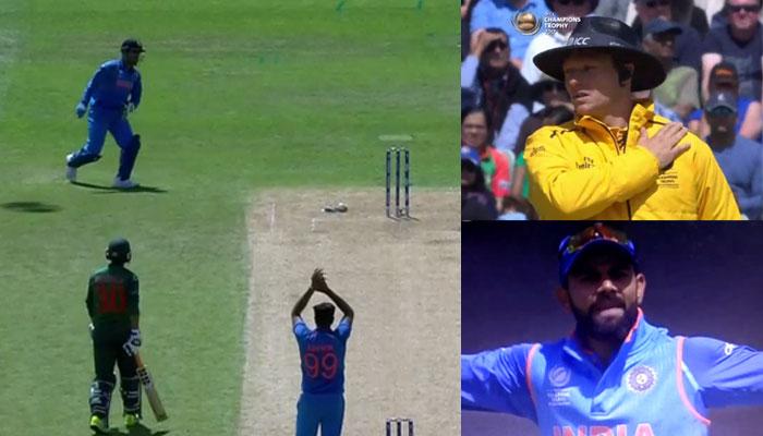 वीडियो: सेमी-फाइनल मैच के दौरान धोनी ने किया कुछ ऐसा कि विराट कोहली हुए  गुस्सा 9