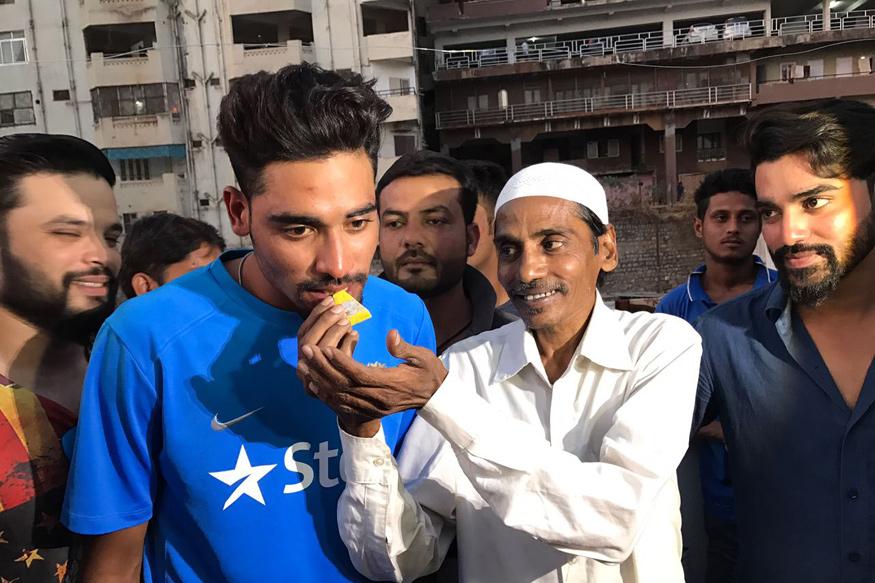 ऑटो ड्राईवर के लड़के का हुआ भारतीय टीम में चयन...बताया भुवनेश्वर कुमार को अपना रोल मॉडल 1