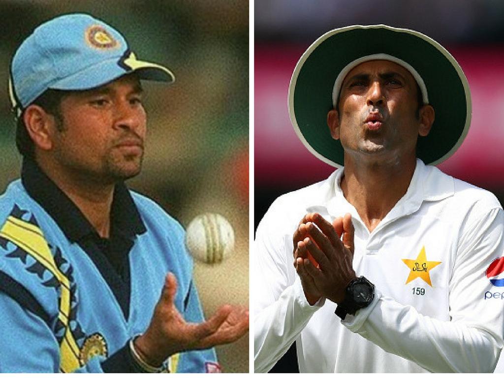 पाकिस्तान के दिग्गज बल्लेबाज यूनिस खान ने लीजेंड सचिन तेंदुलकर पर लगाए सनसनीखेज आरोप 1