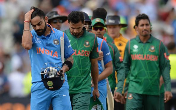 रोहित, धवन और कोहली को नहीं बल्कि इस भारतीय खिलाड़ी को मशरफे मोर्तजा ने दिया बांग्लादेश को हराने का श्रेय 1