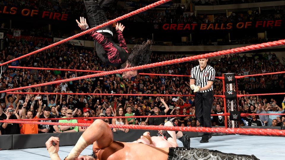 WWE ग्रेट बॉल्स ऑफ फायर: रिजल्ट : 10 जुलाई 2017 5