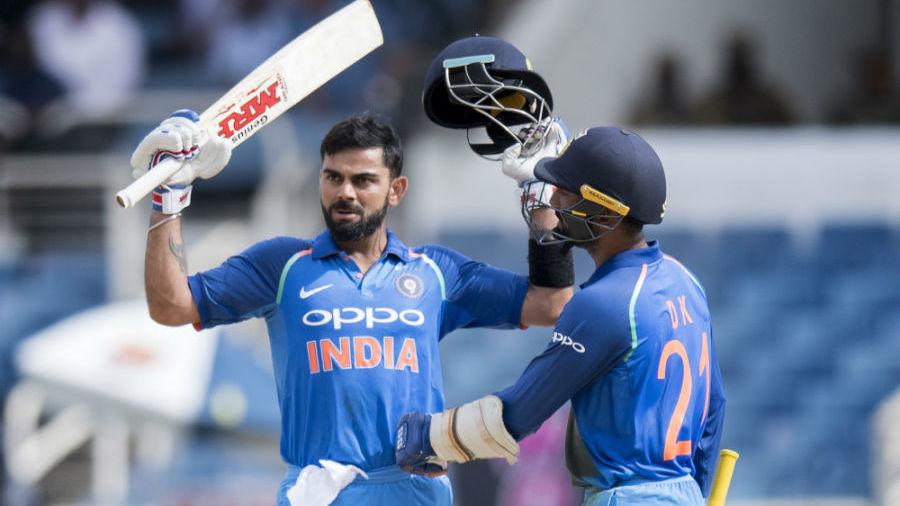 किंग्स्टन वनडे : कोहली का शतक, भारत ने जीता सीरीज, कोहली के सामने नतमस्तक हुए वेस्टइंडीज के खिलाड़ी 1