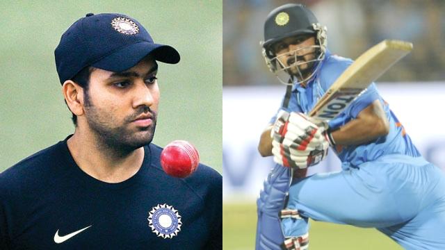 OMG भारत की हार के बाद रोहित शर्मा ने बनाया केदार जाधव का मजाक 9